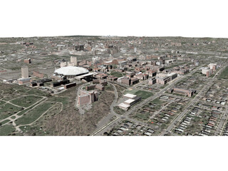 Syracuse City 3D Model
