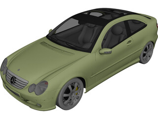 Mercedes-Benz Sport Coupe 3D Model