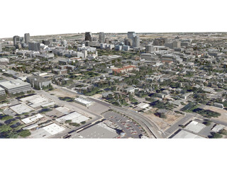 Sacramento City 3D Model