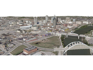 Nashville City 3D Model