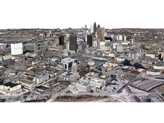 Atlanta City (USA) (2013) 3D Model