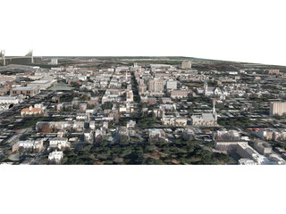 Savannah City 3D Model