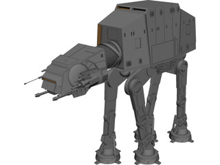 Star Wars All Terrain Armored Transport 3D Model