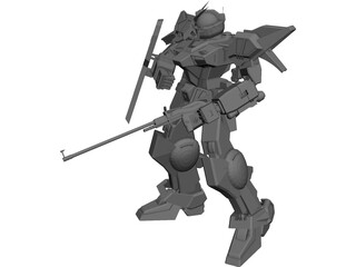 Gundam Light 3D Model