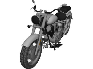 Yamaha FJ1100 (1979) 3D Model