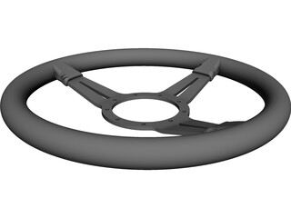 LECARRA Steering Wheel CAD 3D Model