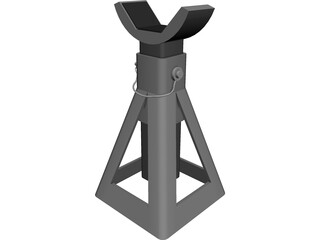 Jack Stand 3D Model 3D Preview