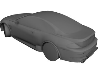 BMW 6-series Coupe CAD 3D Model
