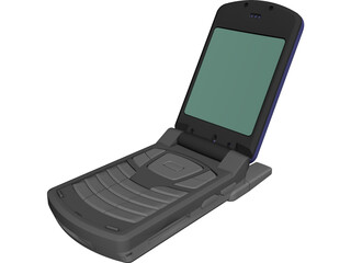 Samsung Cell Phone CAD 3D Model