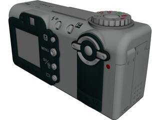 Minolta Dimage F100 3D Model 3D Preview
