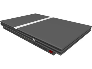Sony Playstation 2 CAD 3D Model