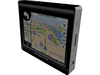 GPS Navigation System 3D Model