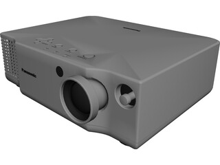Panasonic Projector 3D Model