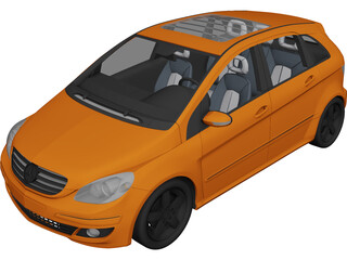 Mercedes-Benz B-class (2006) 3D Model