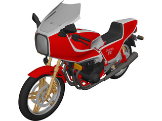 Honda CB1100R 3D Model 3D Preview