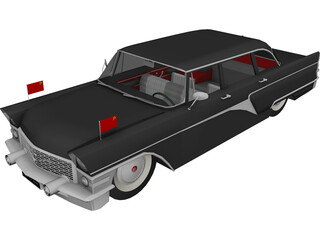 GAZ-13 Chaika 3D Model