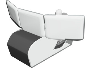 Driving Simulator 3D Model