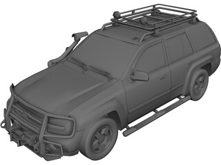 Chevrolet Blazer [Tuned] 3D Model