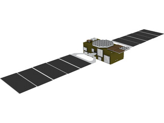 Galileo II 3D Model