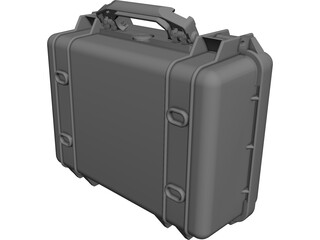 Pelican Case Model 1450 CAD 3D Model