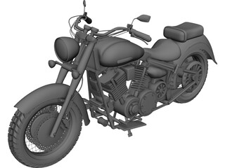 Harley-Davidson 3D Model 3D Preview