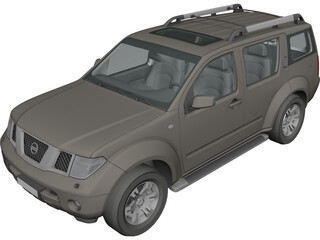 Nissan Pathfinder (2009) 3D Model