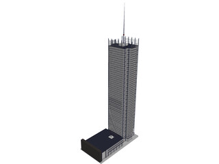 New York Times Building 3D Model