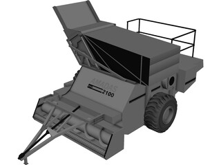 Amadas 2100 Farm Machine for Nuts 3D Model