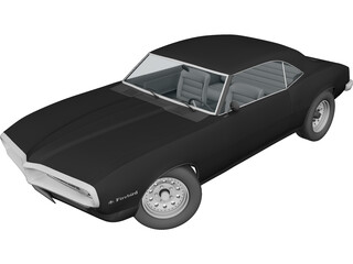 Pontiac Firebird (1968) 3D Model