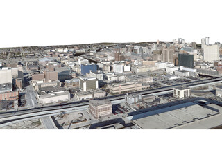 Milwaukee City 3D Model