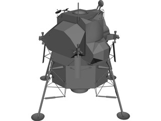 Apollo 11 Lunar Module 3D Model