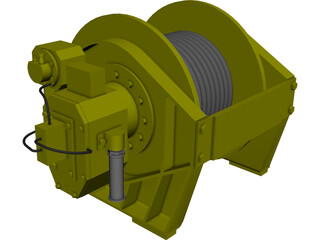 Winch [NURBS] 3D Model