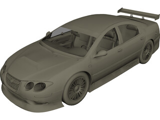 Chrysler 300M Tuning 3D Model