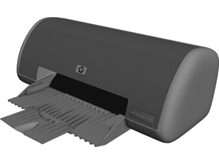 Hewlett-Packard DeskJet 3745 Printer 3D Model