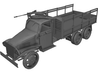 US Army Truck 3D Model