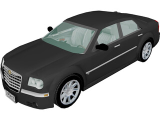 Chrysler 300C (2006) 3D Model