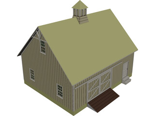 Machine Shed 3D Model