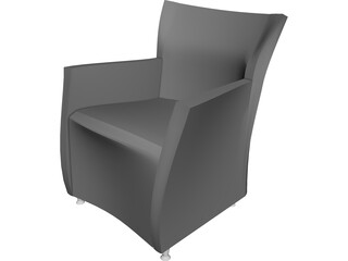 Augustino Armchair 3D Model