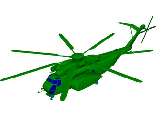 Sikorsky MH-53E Pave Low 3D Model