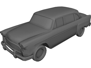 Checker Marathon (1972) 3D Model