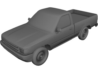 Toyota Pickup (1990) 3D Model