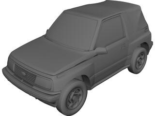 Isuzu Geo Tracker (1993) 3D Model