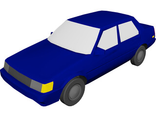 Toyota Corolla (1987) 3D Model