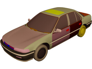 Honda Accord (1993) 3D Model