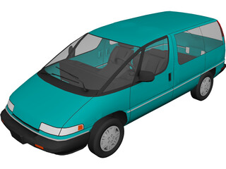 Chevrolet Lumina (1992) 3D Model 3D Preview