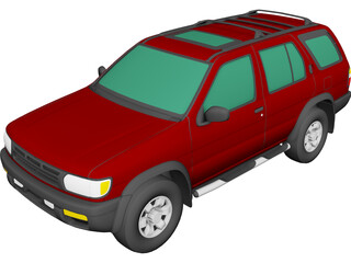 Nissan Pathfinder (1998) 3D Model
