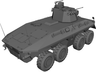 Luchs APC Personal Carrier 3D Model