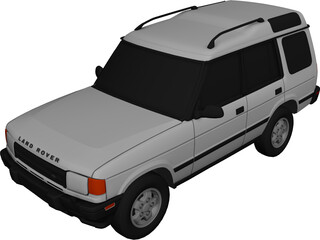 Land Rover Discovery (1996) 3D Model
