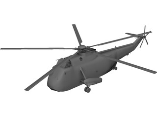 Sikorsky SH-3H Sea King 3D Model