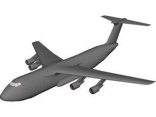 Lockheed C-5G Galaxy 3D Model